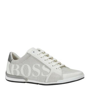 Boss leren sneakers wit (wit)