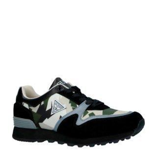 GUESS suède sneakers zwart (zwart)