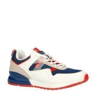 REPLAY Aways sneakersw wit/blauw (wit)