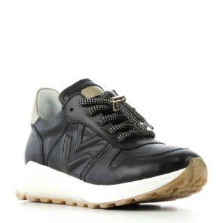 Via Vai leren sneakers zwart (zwart)