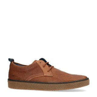Manfield suède sneakers bruin (bruin)