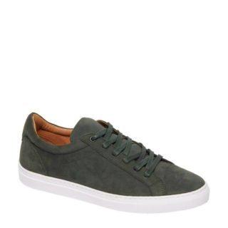 vanHaren AM SHOE nubuck sneakers groen (groen)