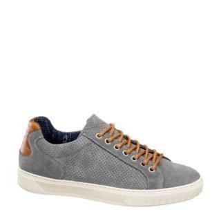 vanHaren AM SHOE suède sneakers grijs (grijs)