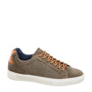 vanHaren AM SHOE suède sneakers bruin (bruin)