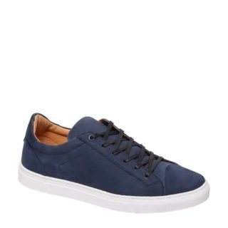 vanHaren AM SHOE nubuck sneakers donkerblauw (blauw)
