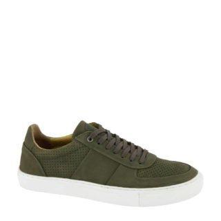 AM SHOE leren sneakers groen/kaki (groen)