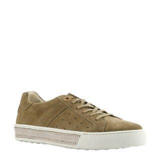 Giuseppe Maurizio nubuck sneakers taupe (bruin)