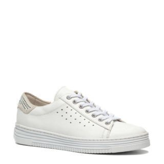 TwoDay leren sneakers wit (wit)