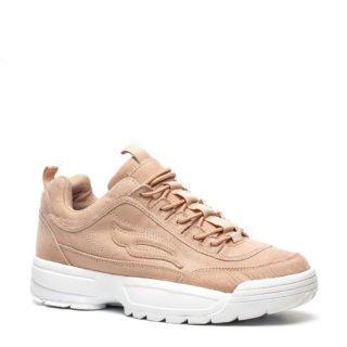 Blue Box dad sneakers oudroze (roze)