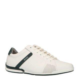 Boss Saturn LOWP leren sneakers wit (wit)