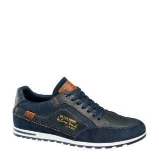 Venture by Camp David leren sneakers donkerblauw (blauw)