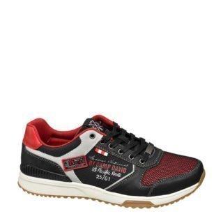 Venture by Camp David sneakers zwart/rood (zwart)