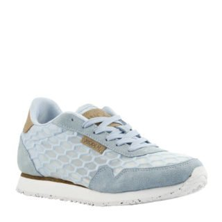 Woden Nora II Mesh sneakers lichtblauw (blauw)