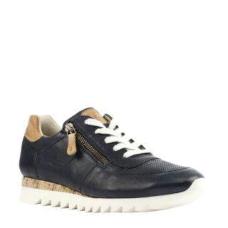 Paul Green leren sneakers donkerblauw (blauw)
