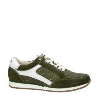 Australian Caravani leren sneakers goen (groen)