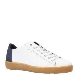 s.Oliver leren sneakers wit (wit)