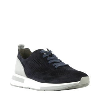 Paul Green 4746 suède sneakers donkerblauw (blauw)