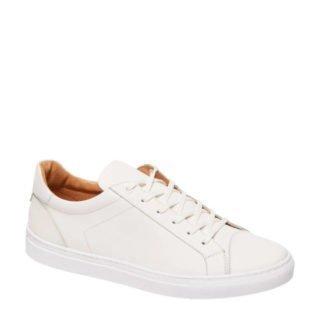 AM SHOE leren sneakers wit (wit)