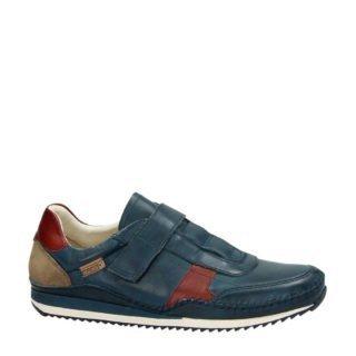 Pikolinos leren sneakers blauw (blauw)