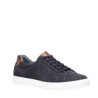 TwoDay suède sneakers donkerblauw (blauw)