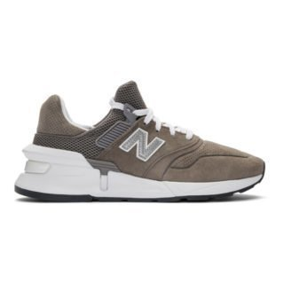 Comme des Garcons Homme Grey New Balance Edition MS997 Sneakers