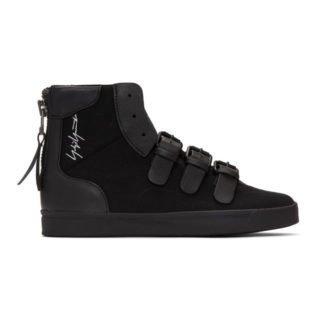 Yohji Yamamoto Black Middoberuto Sneakers