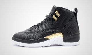 "WMNS Air Jordan XII Retro ""Snakeskin"" Sneaker"
