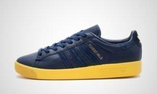 Forest Hills (Navy blauw/Geel) Sneaker