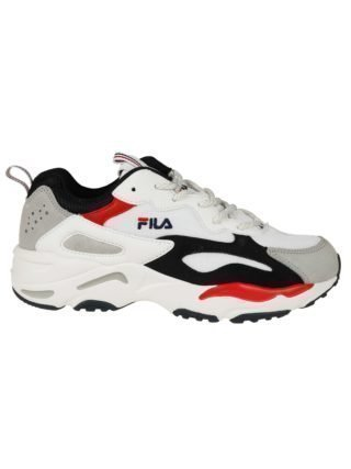 Fila Fila Embroidered Logo Sneakers (wit)