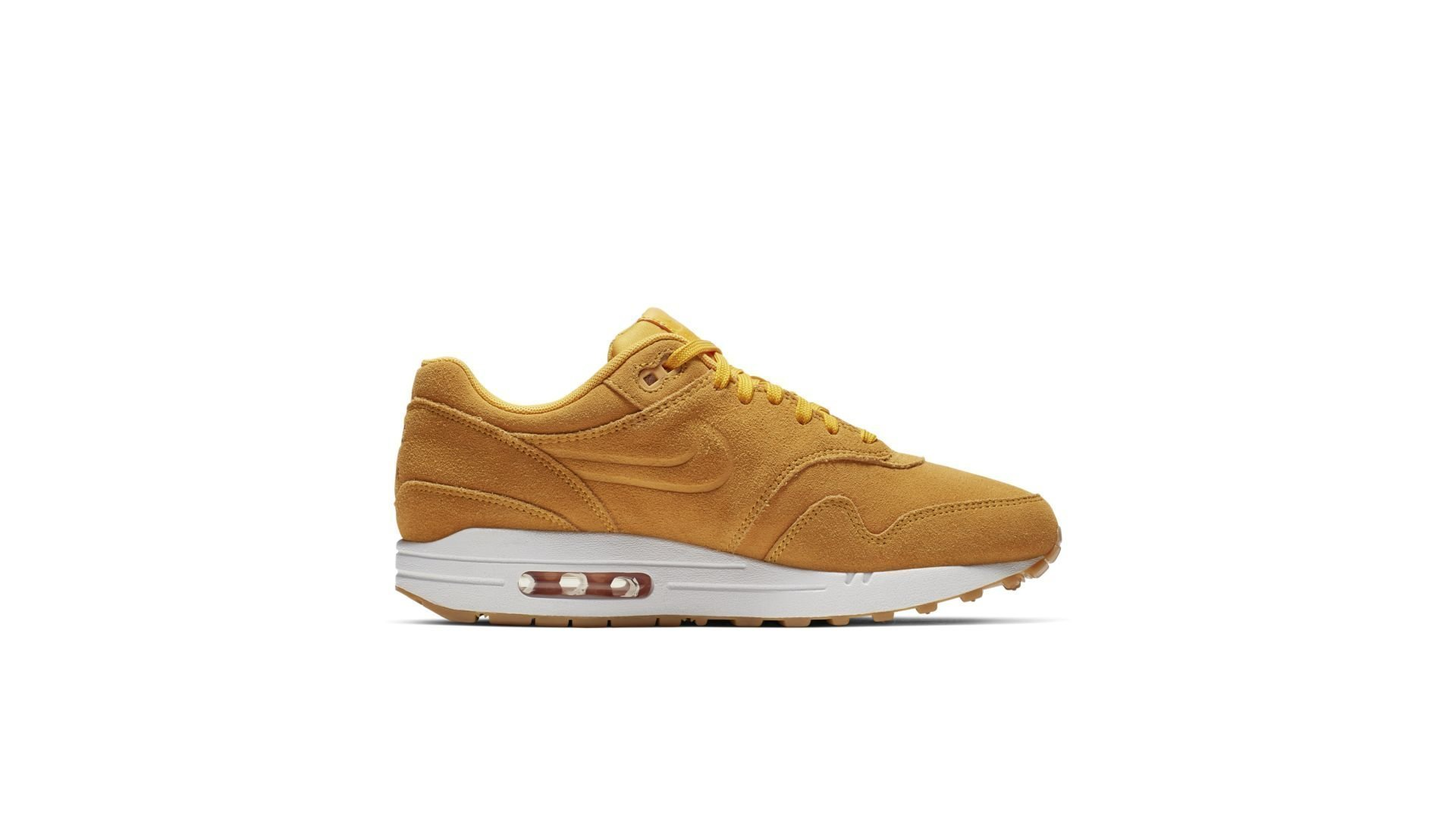 Nike WMNS Air Max 1 Premium 'Yellow' (454746-702)