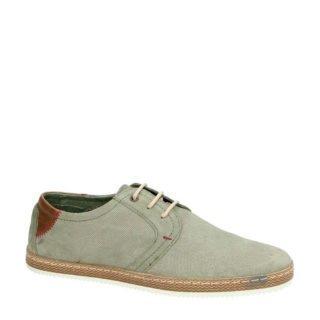 Nelson suède sneakers (grijs)