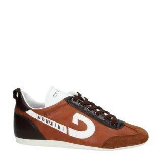 Cruyff Vanenburg 2018 leren sneakers (bruin)