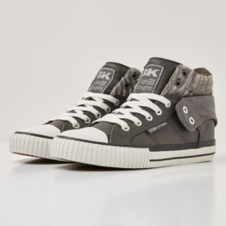 British Knights roco dames sneakers hoog, grey, 36, synthetisch (grijs)