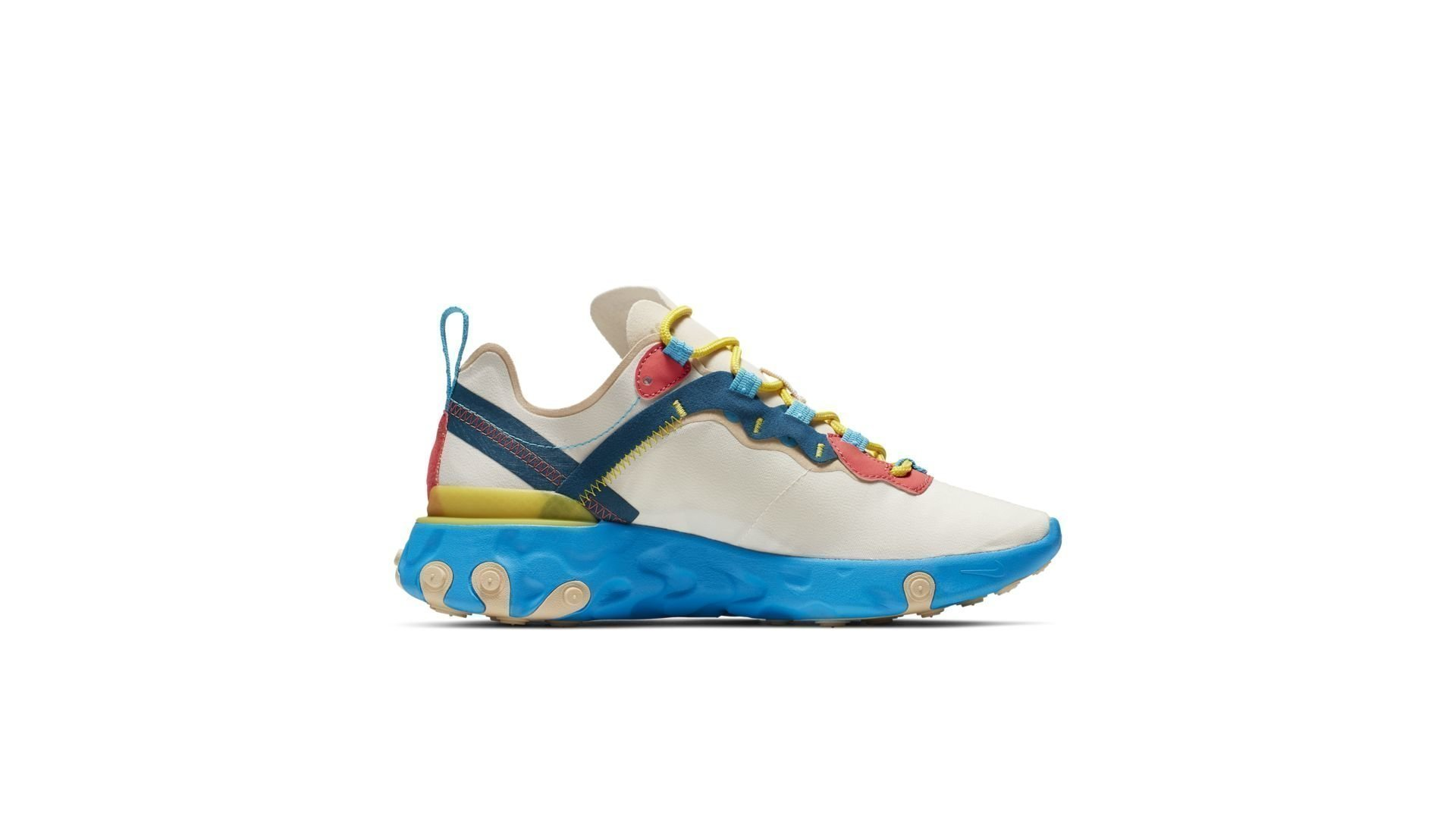 Nike WMNS React Element 55 'Blue Sole' (BQ2728-201)