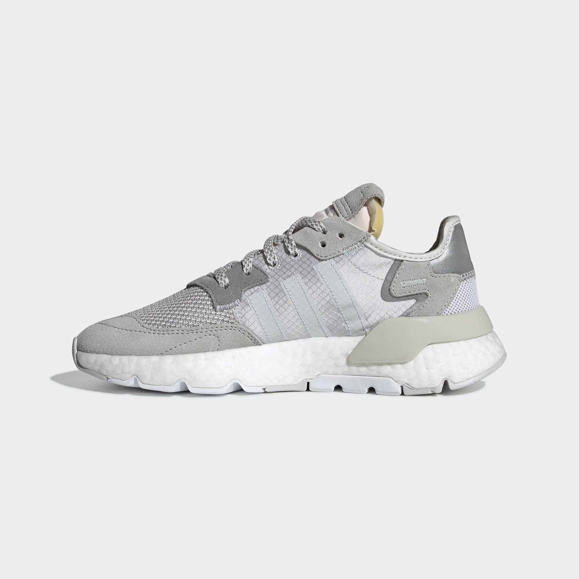 4c37f714f3a Adidas Nite Jogger Grey One / Crystal White / Grey Two (DA8692)