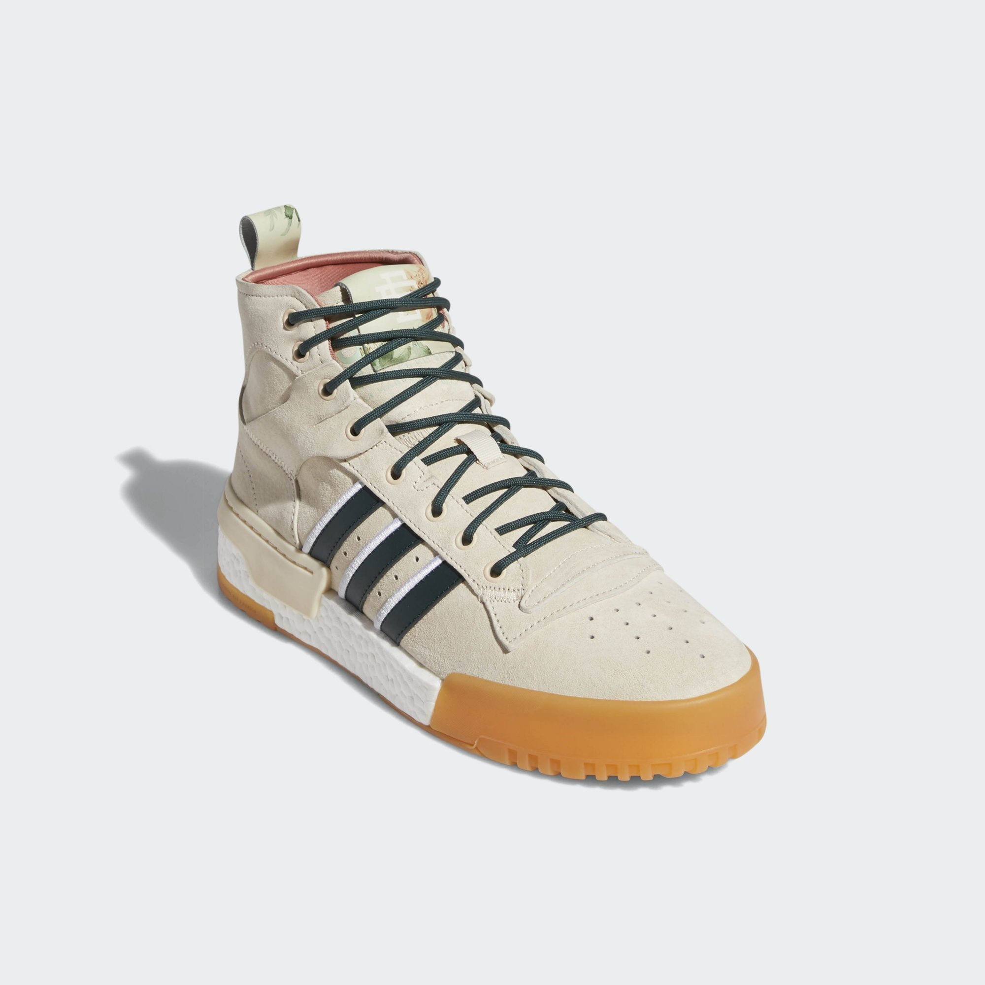Adidas Eric Emanuel Rivalry RM Linen / Off White / Raw Pink (F35091)