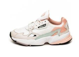 adidas Falcon W (White Tint / Raw White / Trace Pink)