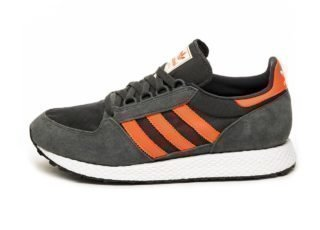 adidas Forest Grove (Carbon / Active Orange / Easy Yellow)