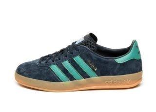 adidas Gazelle Indoor (Collegiate Navy / Active Green / Blue Bird)