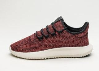 adidas Tubular Shadow CK (Core Black / Trace Scarlet / Chalk White)