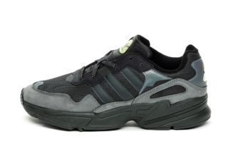 adidas Yung-96 (Core Black / Carbon / Hi Res Yellow)