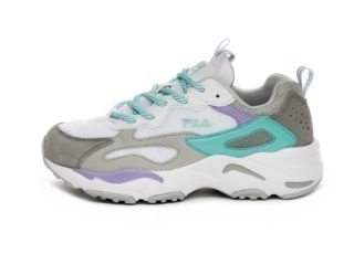 FILA Ray Tracer Wmn (White / Violet Tulip / Blue Curacao)