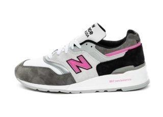 New Balance M997LBK *Made in USA* (Grey / Pink)