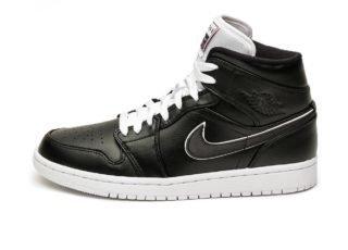 Nike Air Jordan 1 Mid SE *Maybe I Destroyed The Game* (Black / Black -