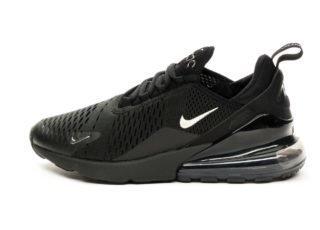Nike Air Max 270 (Black / Chrome - Pure Platinum - Anthracite)