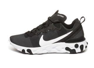 Nike React Element 55 (Black / White)
