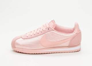 Nike Wmns Classic Cortez Nylon (Coral Stardust / Coral Stardust - Whit