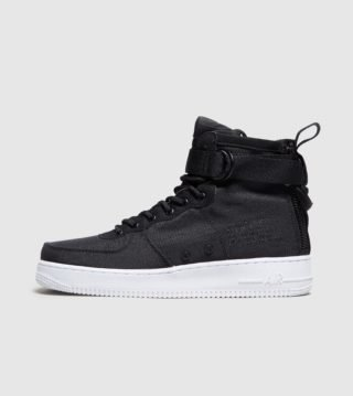 Nike SF Air Force 1 Mid (zwart)