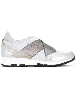Lanvin crisscross strap sneakers (grijs)