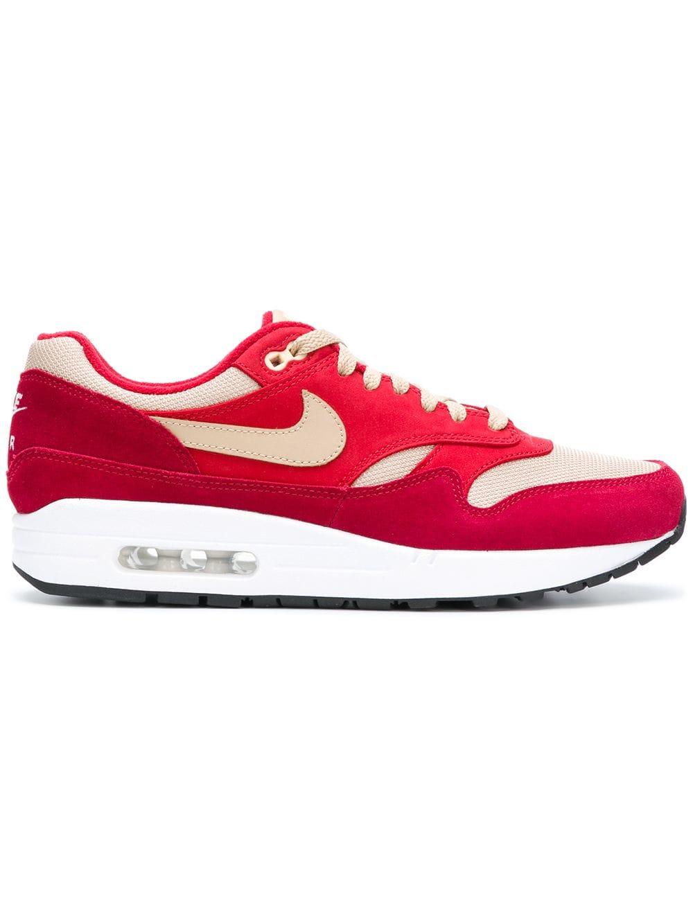 Nike Air Max 1 Premium Retro sneakers - Rood